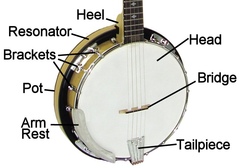 5 string banjo buyers guide from riverboat music tm rh riverboatmusic com Banjo Parts Names Antique Banjo Parts